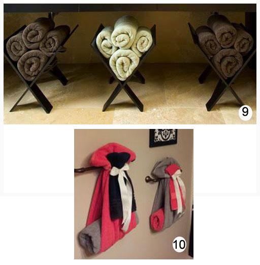toallas decorativas