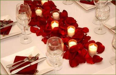 Decorar Una Mesa Para Una Cena Romantica - Cena-romantica-decoracion