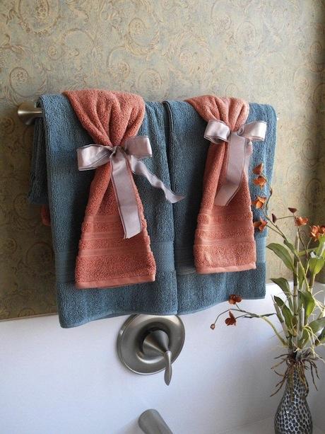 Diferentes Formas De Presentar Las Toallas - Decoracion-con-toallas