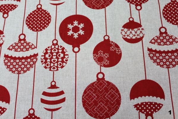 mantel navidad rojo